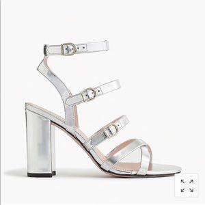 High heeled gladiator sandal, sz 7.5, NWT